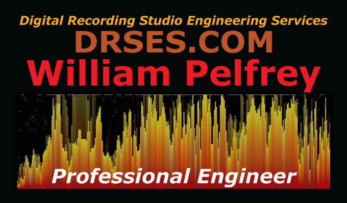 Digital Recording Studio Engineering Services's Personal Card Front